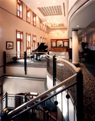 Minden Opera House Theater Lobby for Online Ed