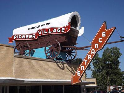 Pioneer Village sign online