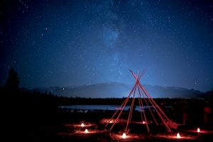Jasper Dark Sky Festival - Lake Annette Star Party - Credit Ryan Bray, Parks Canada